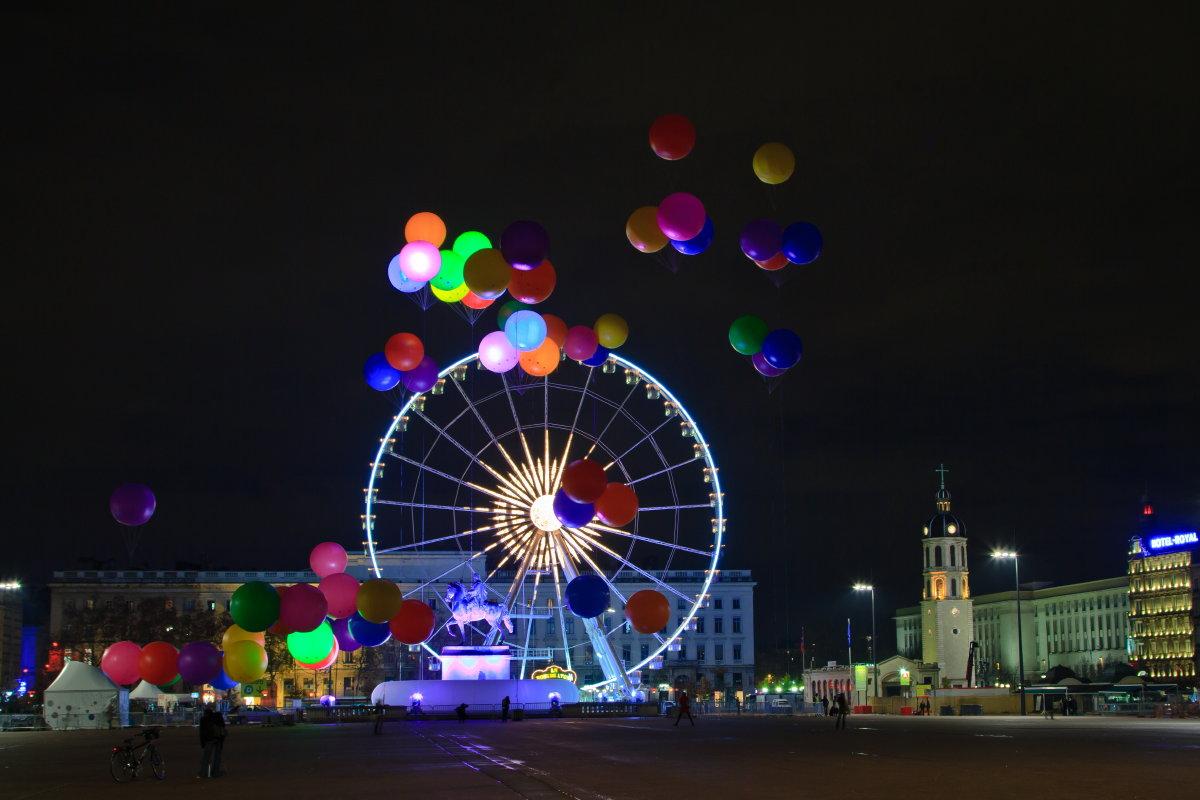 Fête des Lumières 2011 à Lyon