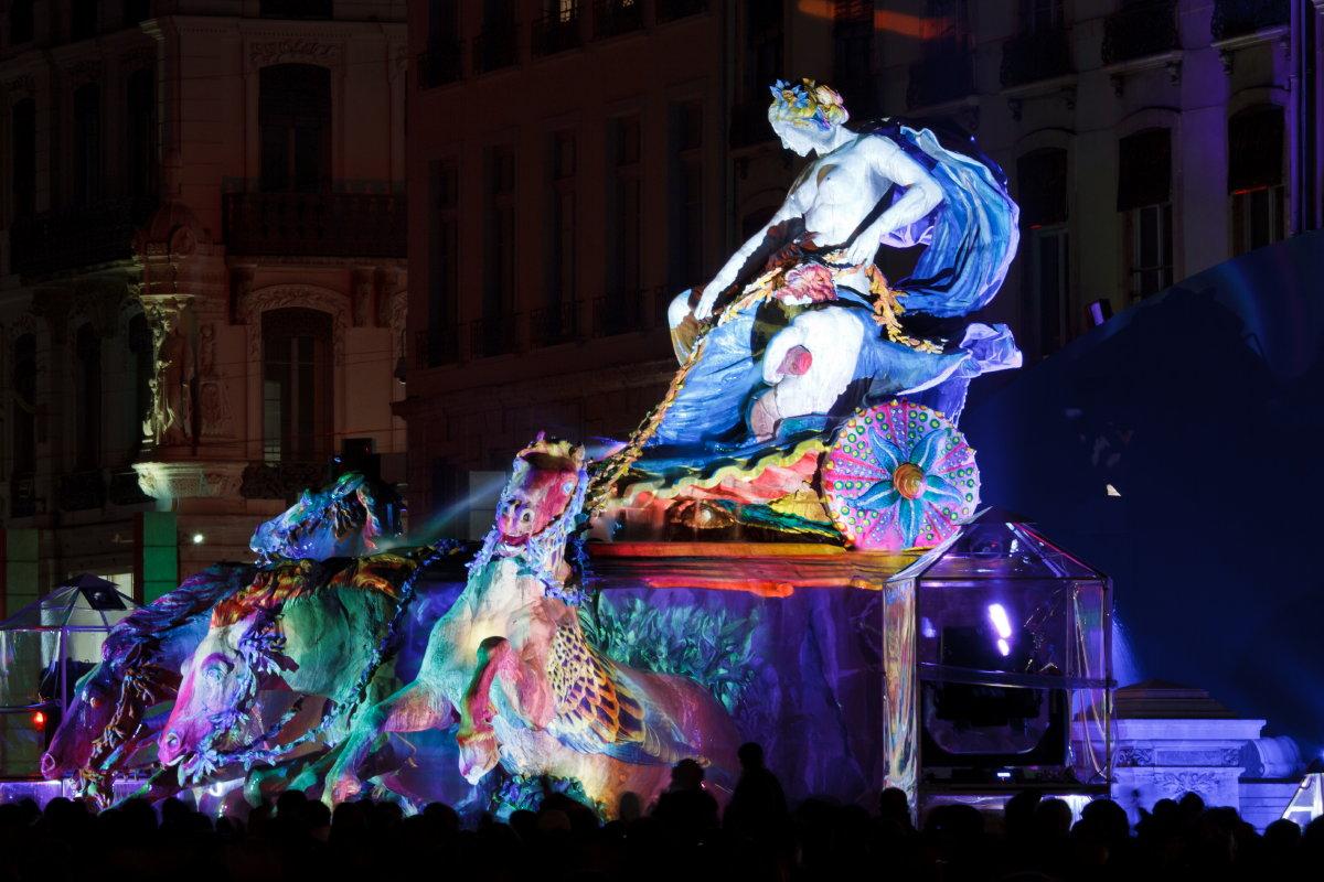 Fête des Lumières 2010 à Lyon